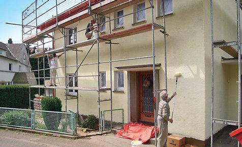 Fassade streichen lassen kosten